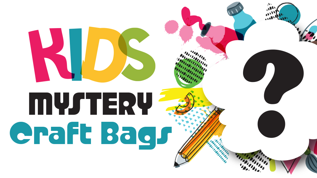 kids mystery craft bags